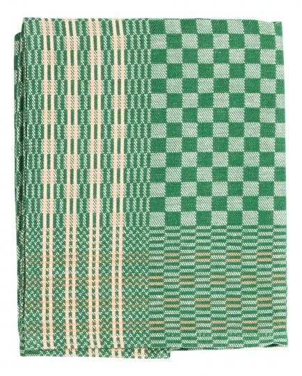 Grubentuch, grün.