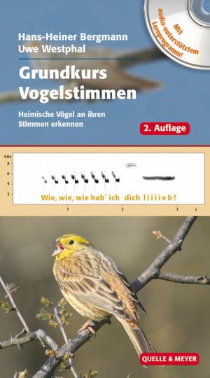 Grundkurs Vogelstimmen - Heimische Vögel an ihren Stimmen erkennen mit DVD