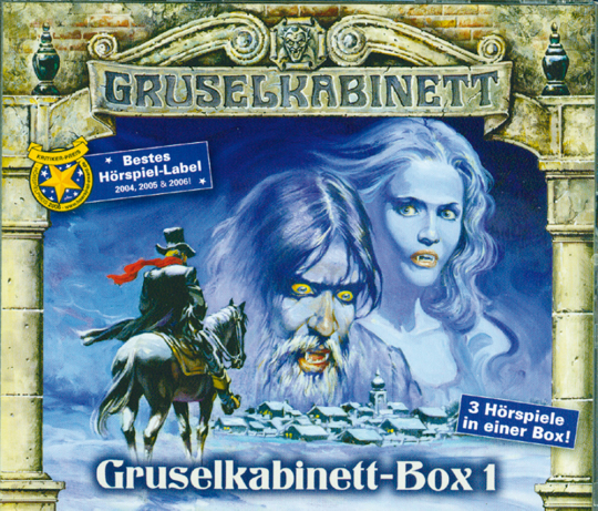 Gruselkabinett Box 1 3 CDs