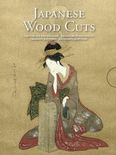 Grußkartenbox Japanische Holzschnitte. Japanese Woodcuts. 30 Fotodoppelkarten mit Umschlag.