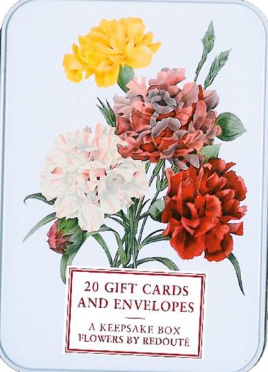 Grußkarten »Flowers by Redouté«.