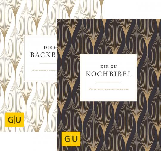 GU-Bibeln. Die GU-Kochbibel & Die GU-Backbibel. 2 Bände.