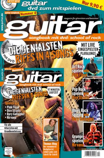 Guitar Songbook. School of Rock Vol. 4. Songbook mit DVD.
