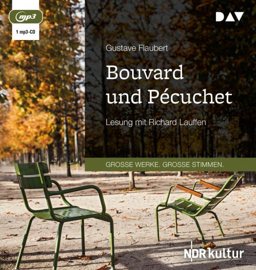 Gustave Flaubert. Bouvard und Pécuchet. 1 mp3-CD.