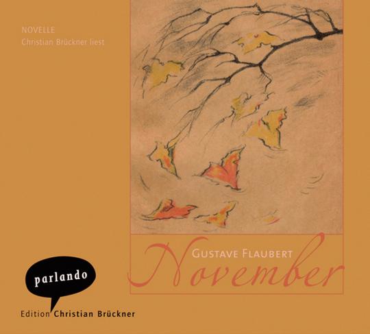 Gustave Flaubert. November. 3 CDs.