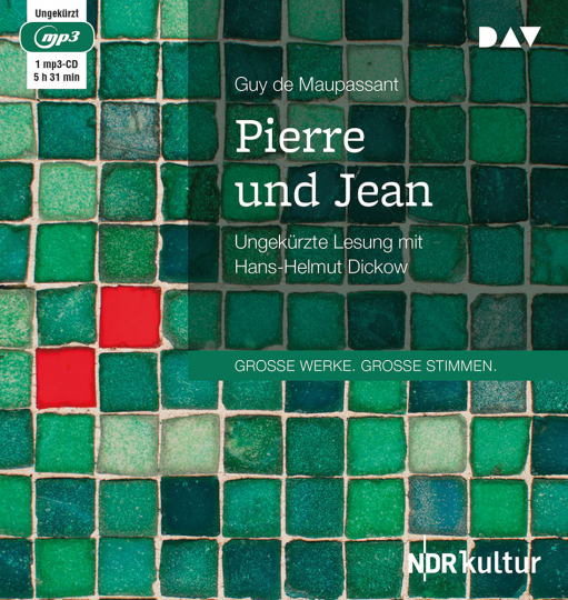Guy de Maupassant. Pierre und Jean. mp3-CD.