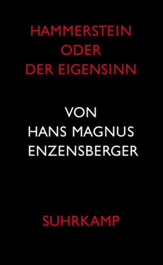 Hammerstein oder Der Eigensinn.