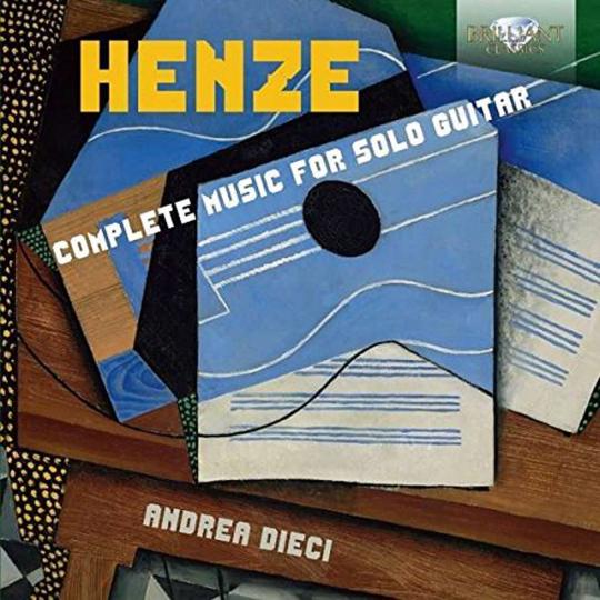 Hans Werner Henze. Komplette Musik für Gitarre. CD.