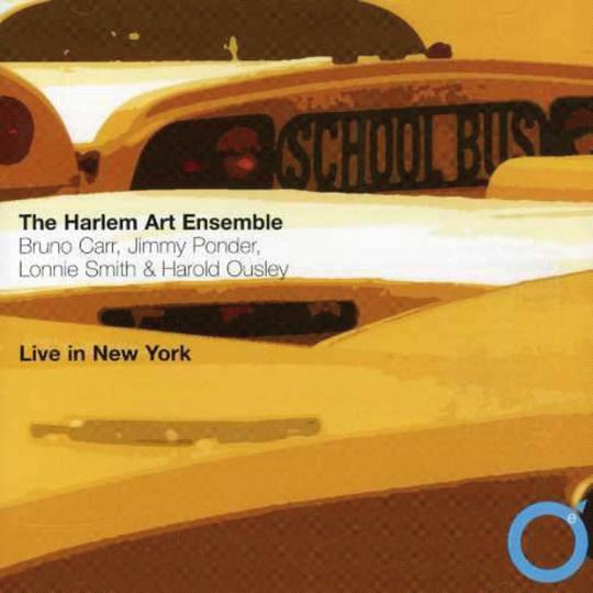 Harlem Art Ensemble. Live in New York. 15.-17.8.1990. CD.