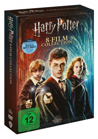 Harry Potter Complete Collection (Jubiläumsedition) (8 Filme). 9 DVDs.