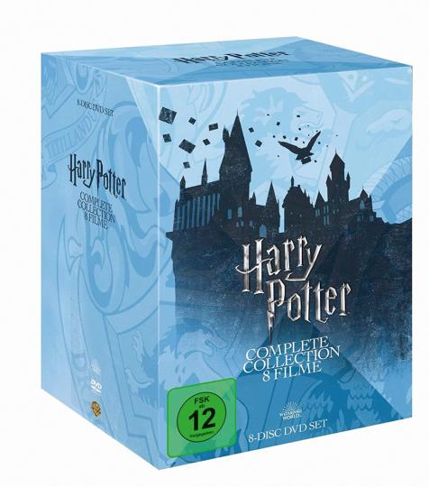 Harry Potter - Komplette Edition. 8 DVDs.