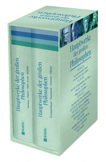Hauptwerke der großen Philosophen. 2 Bände im Schuber.