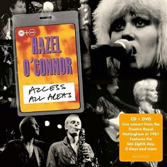 Hazel O'Connor. Access All Areas. CD + DVD.