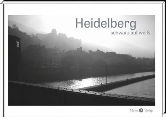 Heidelberg. Schwarz auf weiß.