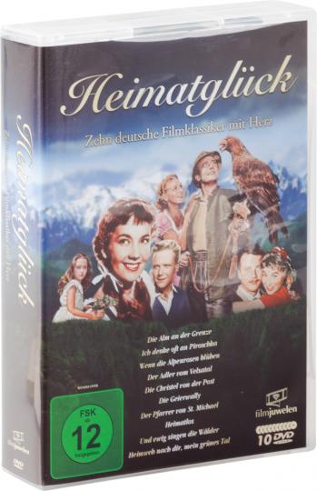 Heimatglück: Zehn deutsche Filmklassiker mit Herz. 10 DVDs.