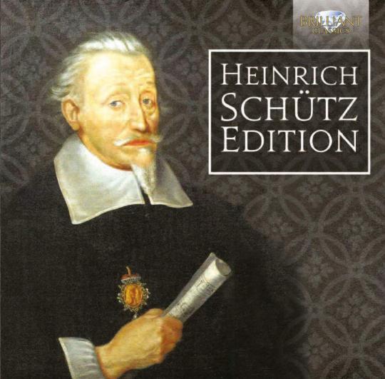 Heinrich Schütz. Edition. 19 CDs.