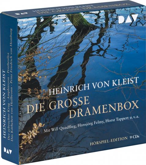 Heinrich von Kleist. Die große Dramenbox. 9 CDs.