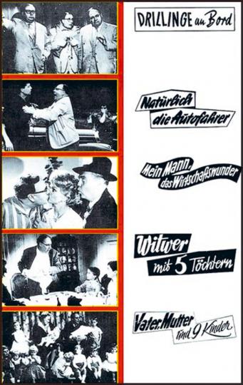 Heinz Erhardt Collection. 5 DVDs.