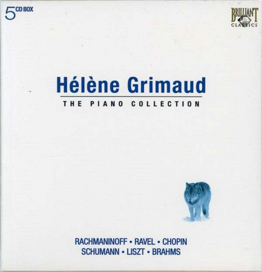Helene Grimaud. The Piano Collection. 5 CDs.