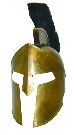 Helm des Leonidas. Tragfähiges Replikat aus Frank Millers '300'