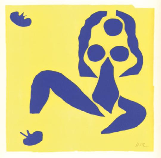 Henri Matisse. Blaue Nackte 11.