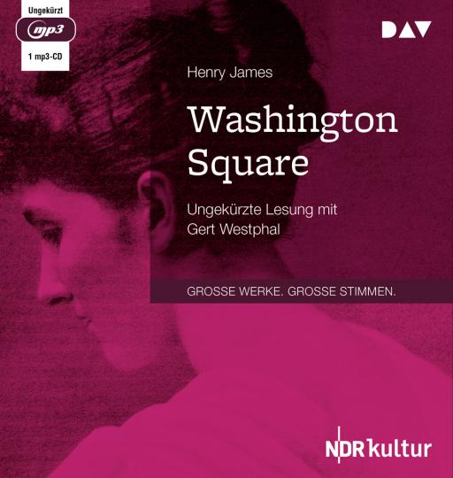 Henry James. Washington Square. 1 mp3-CD.