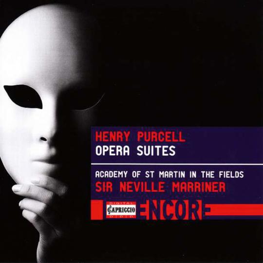 Henry Purcell. Suiten aus Opern. CD.