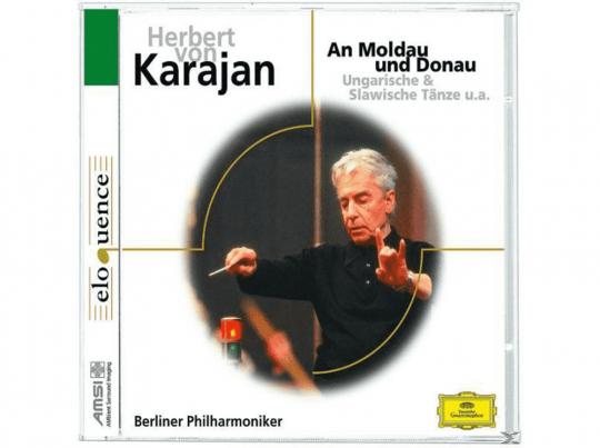 Herbert von Karajan. An Moldau und Donau. CD.