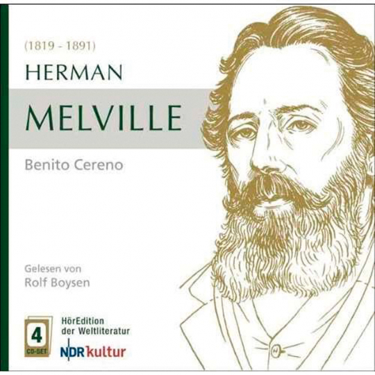 Herman Melville. Benito Cereno. 4 CDs.