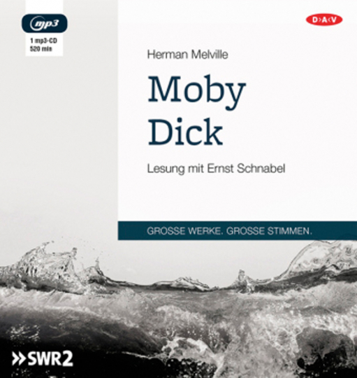 Herman Melville. Moby Dick. Hörbuch. 1 CD.