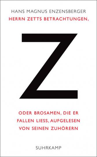 Herrn Zetts Betrachtungen.