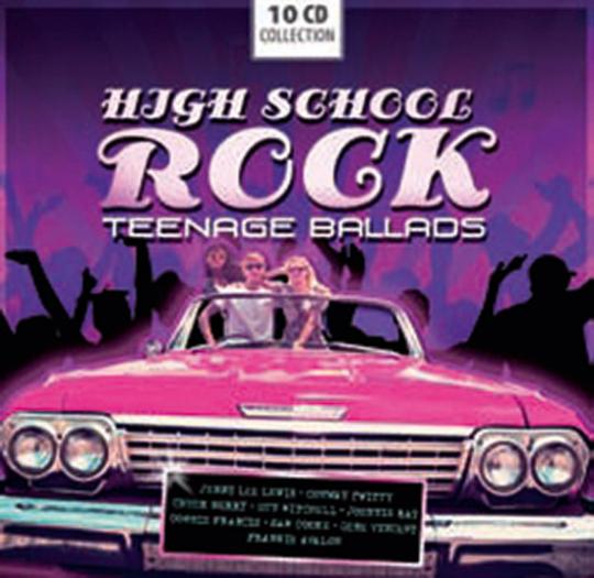 High School Rock. Teenage Ballads. 10 CDs.