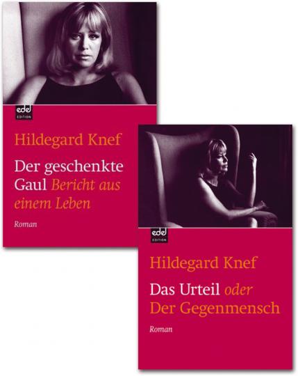 Hildegard Knef. »Das Urteil oder Der Gegenmensch« & »Der geschenkte Gaul«. 2 Bände im Set.