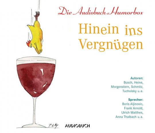 Hinein ins Vergnügen. Die Audiobuch-Humorbox. 3 CDs.