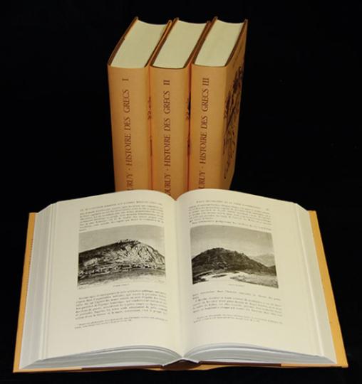 Histoire des Grecs. Geschichte der Griechen. Nachdruck.