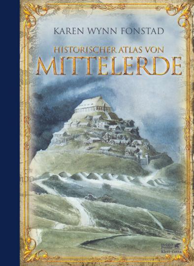 Historischer Atlas von Mittelerde.