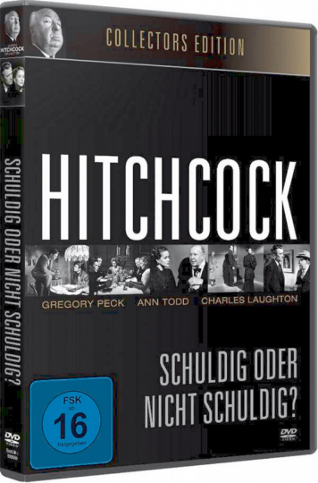 Hitchcock , Schuldig oder nicht schuldig? DVD