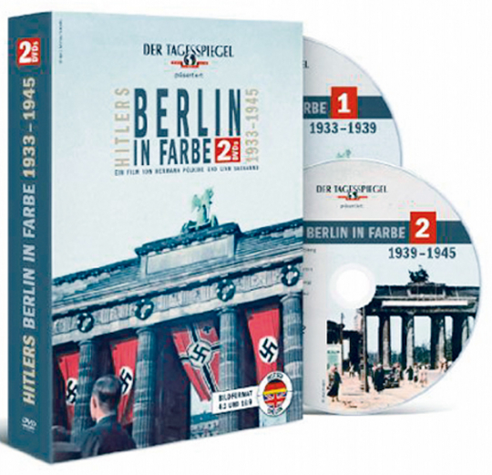 Hitlers Berlin in Farbe 1933-1945 auf 2 DVDs