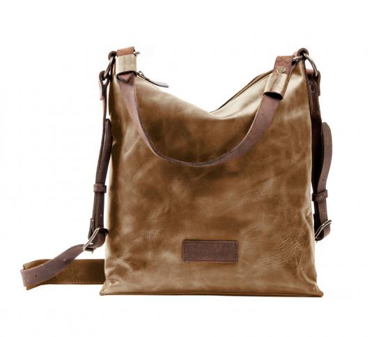 Hochformatige Handtasche »Flint«, oliv.
