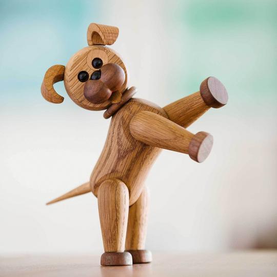 Holzhund »Happy«.