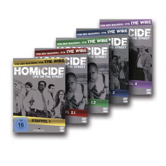 Homicide Season 1 bis 4. 16 DVDs.