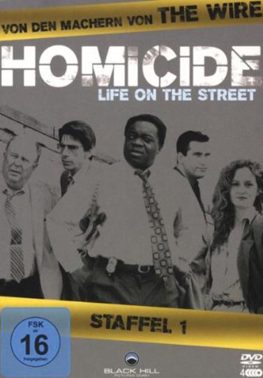 Homicide Season 1. 4 DVDs.