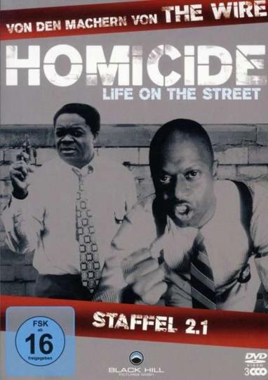 Homicide Season 2 Box 1. 3 DVDs.