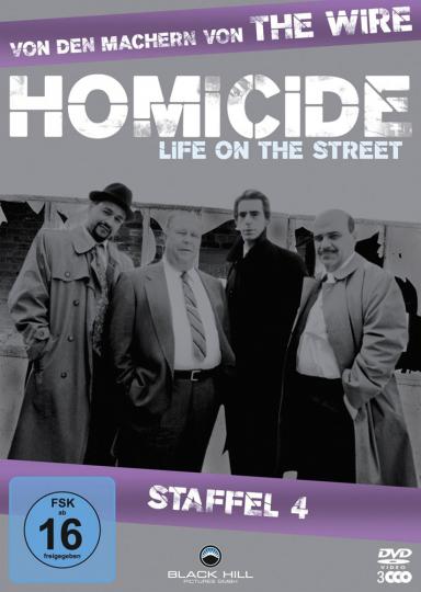 Homicide Season 4. 3 DVDs.