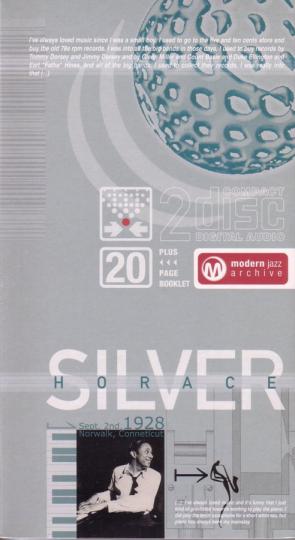 Horace Silver. Opus De Funk / Stop Time Jazz Archive. 2 CDs.