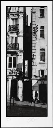 Horst Hamann. Paris Vertical. Vorzugsausgabe mit signiertem Print.