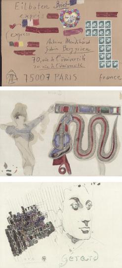 Horst Janssen - un sejour parisien
