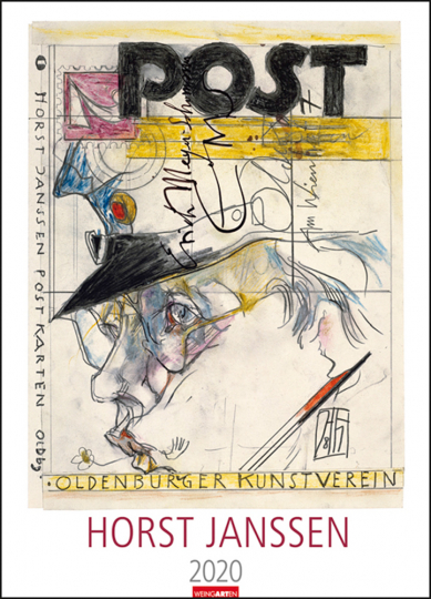 Horst Janssen. Kalender 2020.