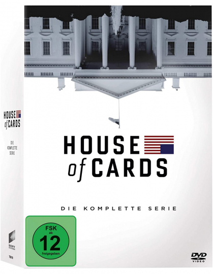 House of Cards (Komplette Serie). 23 DVDs.