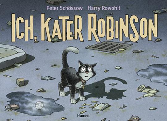 Ich, Kater Robinson.